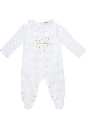MONNALISA Bébé – Grenouillère imprimée en coton