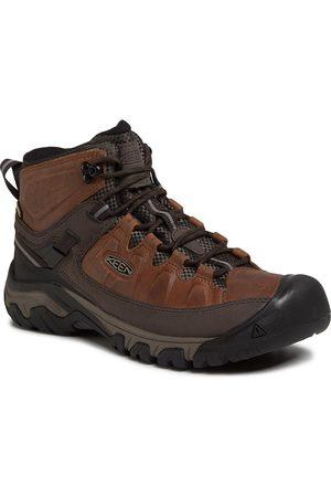 Keen Homme Chaussures - Chaussures de trekking - Targhee III Mid Wp 1023030 Chestnut/Mulch