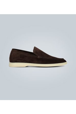 Loro Piana Mocassins Summer Walk en daim