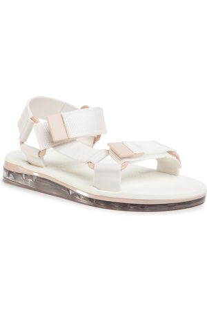Melissa Sandales - Papete + Rider Ad 32537 Clear/White/Pink 53659