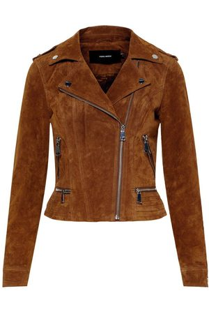 Vero Moda Femme Vestes en cuir - Daim Veste Women brown