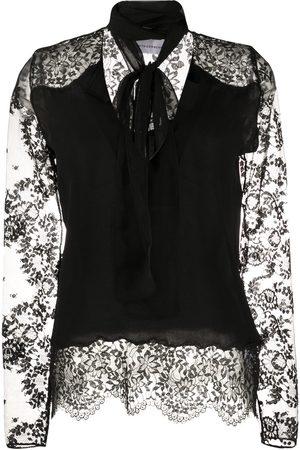 FAITH CONNEXION Lace sleeve blouse