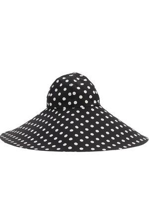 MARIANNA SENCHINA Femme Chapeaux - Wide Brim Printed Canvas Hat