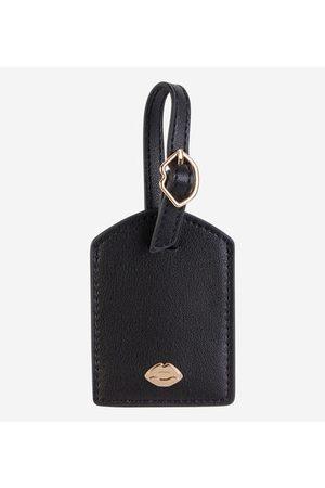 Bons Baisers de Paname Porte-étiquette de bagage French Kiss bouche cuir