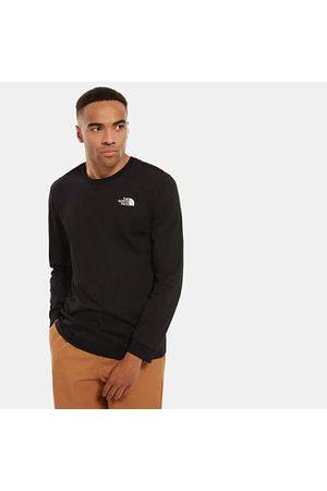 The North Face T-shirt À Manches Longues Simple Dome Pour Homme Tnf Black Taille XXL