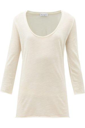 Raey Manches longues - T-shirt manches longues en jersey de laine