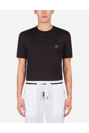 Dolce & Gabbana Homme T-shirts - Collection - COTTON T-SHIRT WITH PATCH