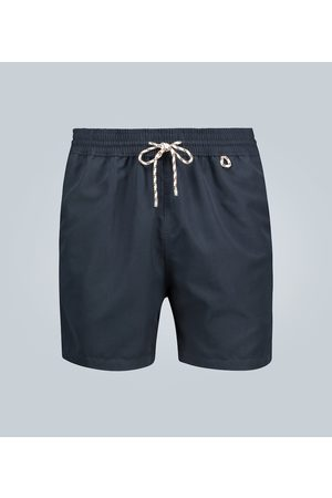 Loro Piana Short de bain Bay Soft Albatros