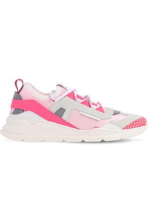 Dolce & Gabbana Sneakers Slip-on En Maille Et Daim