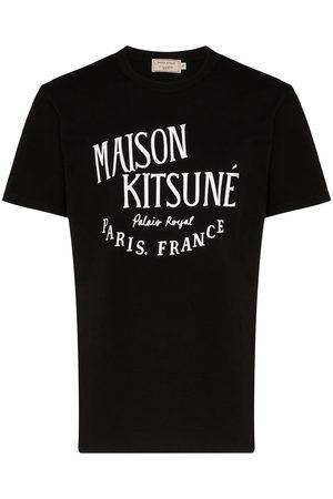 Maison Kitsuné T-shirt Palais Royal à logo