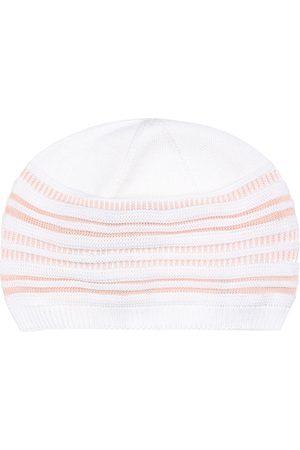 Loro Piana Bébé – Bonnet rayé en coton