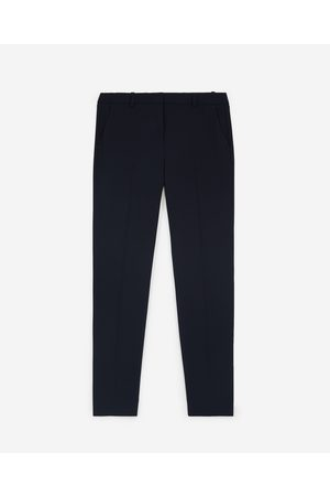 The Kooples Pantalon fluide bleu marine costume