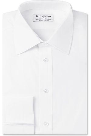 KINGSMAN + Turnbull & Asser Double-cuff Cotton-twill Shirt