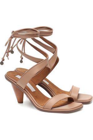 Stella McCartney Sandales en cuir synthétique