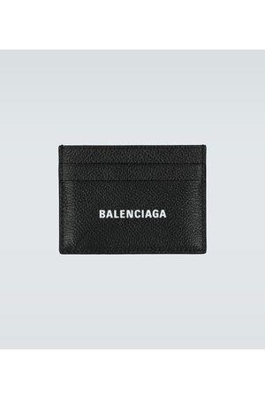 Balenciaga Porte-cartes Cash en cuir