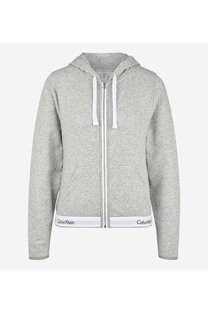 Calvin Klein Femme Sweats zippés - Sweat d'intérieur zippé à capuche