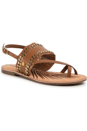 Pepe Jeans Sandales - March Studs PLS90447 Tobacco 859