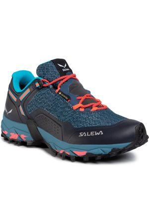 Chaussures SALOMON - X Revael Gtx W GORE-TEX 410422 20 Black/Stormy Weather/Ebony  - Trekking et chaussures de randonnée - Chaussures de sport - Femme