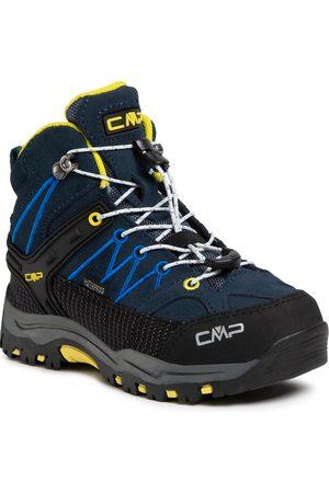 CMP Garçon Chaussures - Chaussures de trekking - Rigel Mid Trekking Shoes Wp 3Q12944 Cosmo/Lemonade 08NE