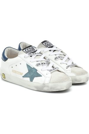 Golden Goose Baskets Superstar en cuir et daim