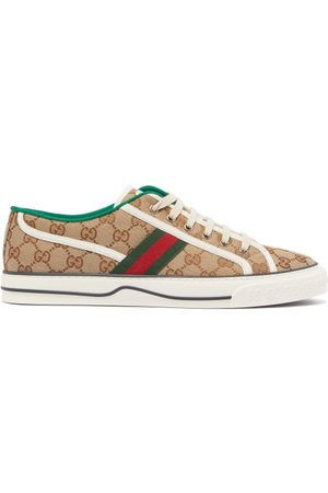 Gucci Baskets en toile GG Tennis 1977