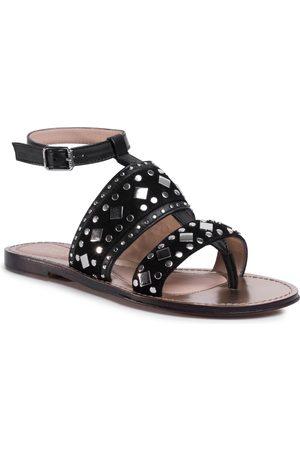 Twin-Set Femme Sandales - Sandales - Sandalo 201TCT04A Nero 00006