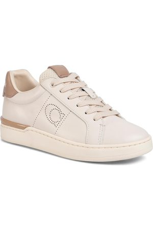 Coach Sneakers - Lowline Ltr Low Top G5039 10011275 Chalk/Taupe