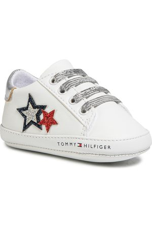 Tommy Hilfiger Fille Chaussures basses - Chaussures basses - Lace Up T0A4-30594-0886 White/Blue/red Y003