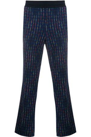 Missoni Homme Pantalons coupe droite - Pantalon droit à broderies