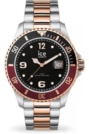 Ice-Watch Homme Montres - ICE steel - Chic silver rose-gold - Large - 3H