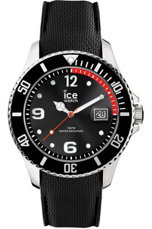 Ice-Watch Homme Montres - ICE steel - Black - Large - 3H