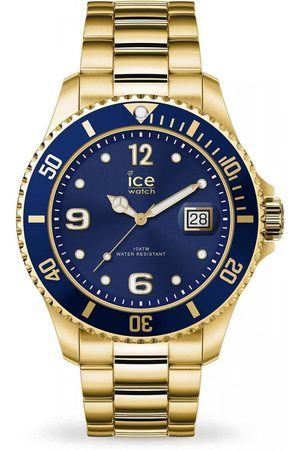 Ice-Watch Homme Montres - ICE steel - Gold blue - Large - 3H