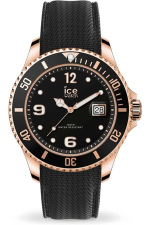 Ice Watch Homme Montres - ICE steel - Black Rose-Gold - Large - 3H