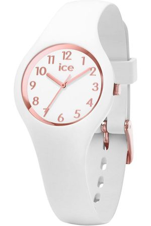 Ice-Watch Femme Montres - ICE glam - White Rose-Gold - Numbers - Extra small - 3H
