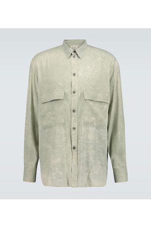 Rochas Chemise Quartilla à manches longues en soie