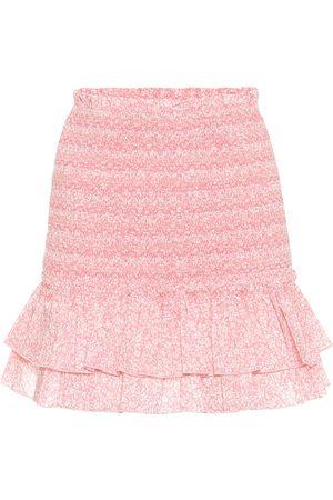 JONATHAN SIMKHAI Mini-jupe Sydney imprimée en coton