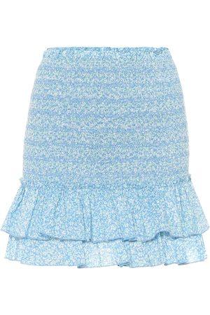 JONATHAN SIMKHAI Mini-jupe imprimée en coton