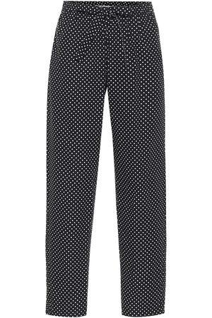 UNDERCOVER Pantalon en coton à pois