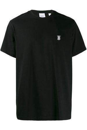 Burberry T-shirt à logo brodé