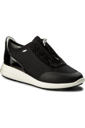 Geox Femme Baskets - Sneakers - D Ophira E D621CE 01402 C0595 Black/Black