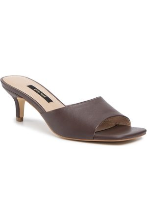 Gino Rossi Femme Mules & Sabots - Mules / sandales de bain - 119AL3952 Brown