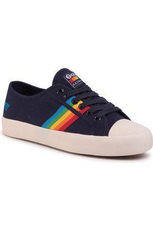 Gola Sneakers - Coaster Rainbow CLA671 Navy/Multi