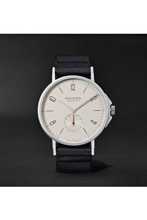 Nomos Glashütte Homme Montres - Ahoi Automatic 40mm Stainless Steel and Nylon Watch, Ref. No. 550