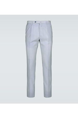 Incotex Pantalon slim en laine mérinos