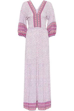 POUPETTE ST BARTH Robe longue Mya imprimée