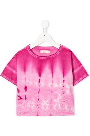 Andorine T-shirt à imprimé tie dye