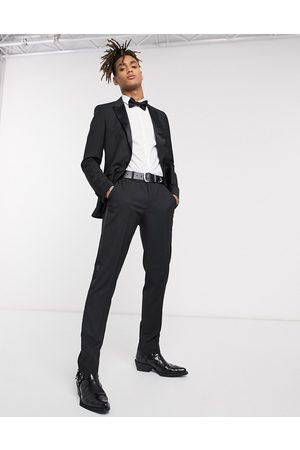 ASOS Pantalon de costume slim style smoking