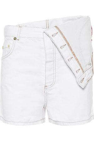 Y / PROJECT Short asymétrique en jean