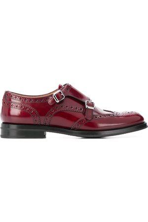 Church's Chaussures à double boucle Lana R en cuir fleuri