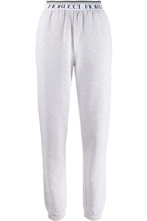 Fiorucci Pantalon de jogging à taille à logo